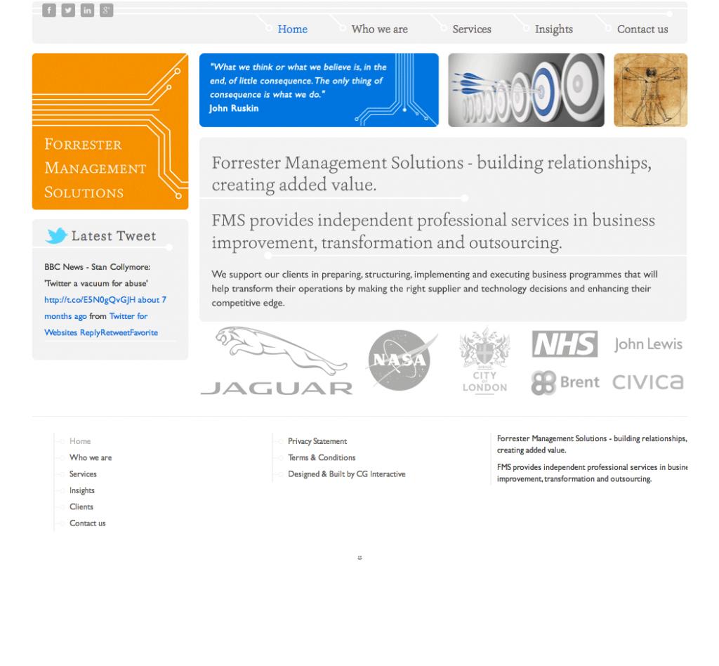 Forrester Management Solutions